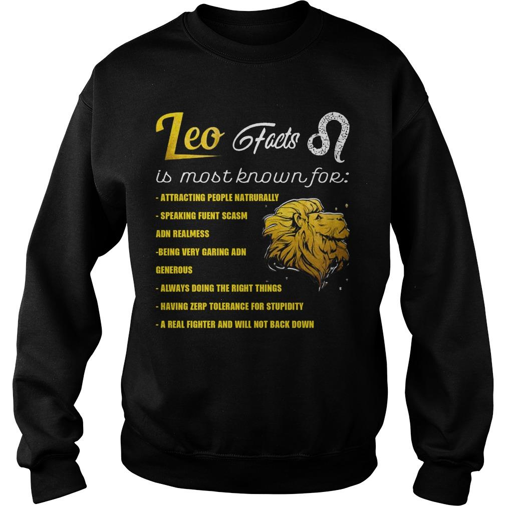 Leo Feets Is Most Known For Attracting People Naturally Sweater
