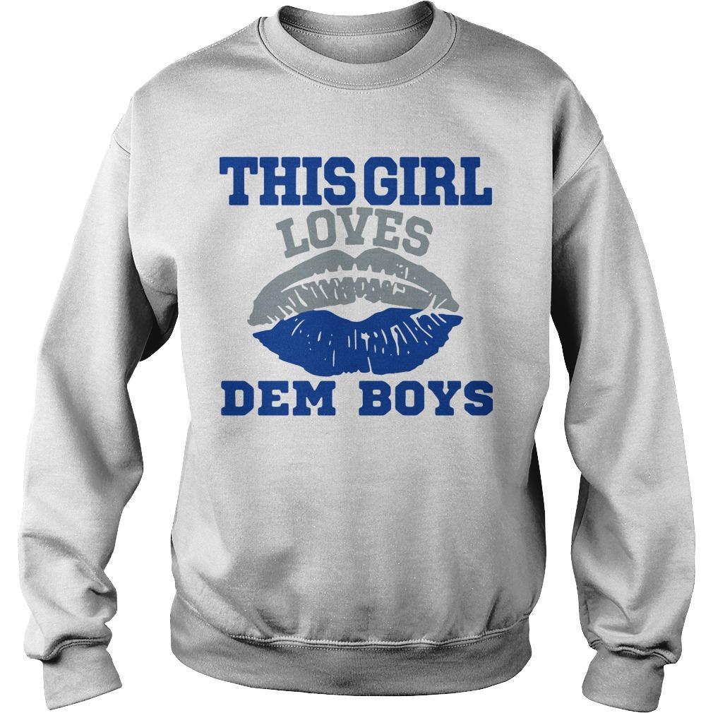 Lips This Girl Loves Dem Boys Sweater