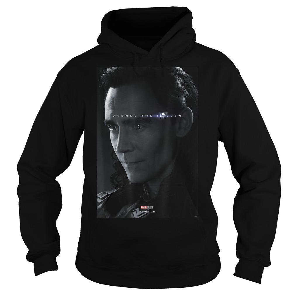 Loki Avenger The Fallen Poster Hoodie