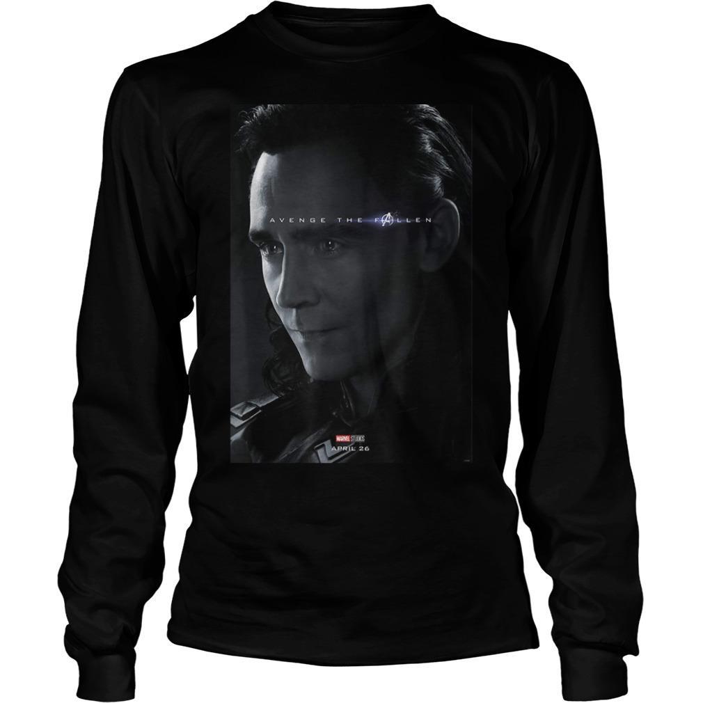 Loki Avenger The Fallen Poster Longsleeve