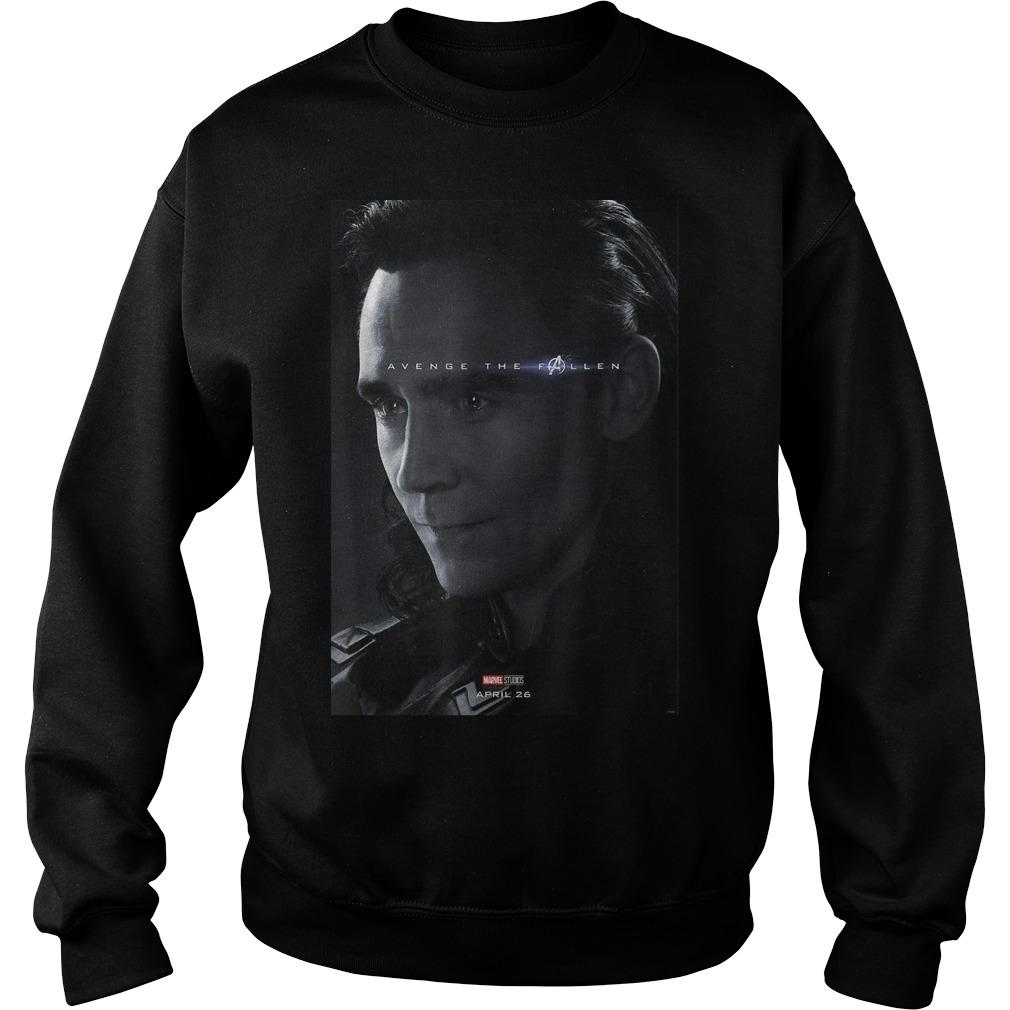Loki Avenger The Fallen Poster Sweater