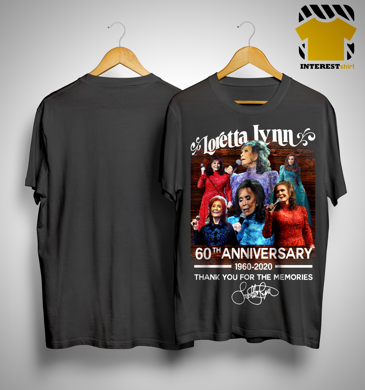Loretta Lynn Tour 2020 Loretta Lynn 60th Anniversary 1960 2020 Thank You For The Memories