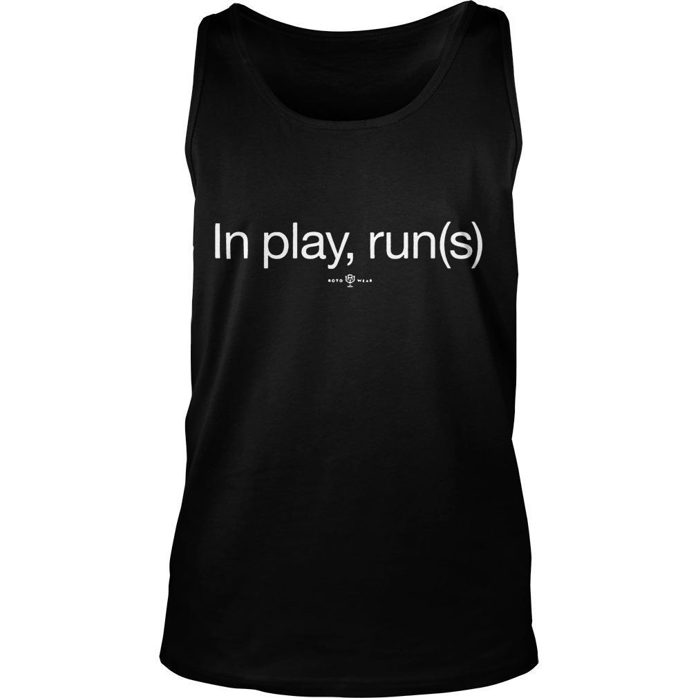 Max Muncy In Play Run(s) Tank Top