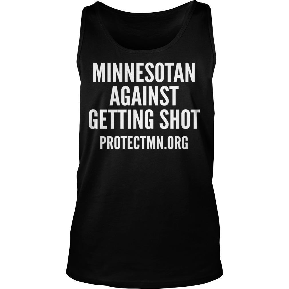 Minnesotan Against Getting Shot Tank Top