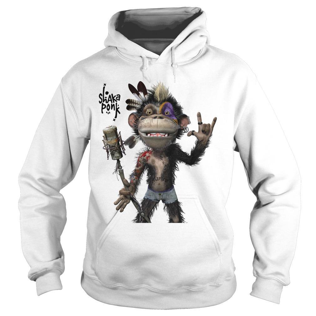 Monkey Goz Shaka Ponk Hoodie