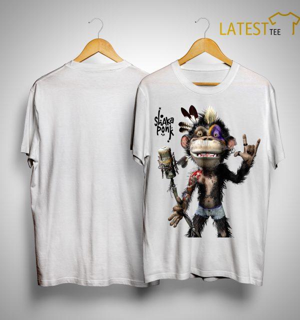 Monkey Goz Shaka Ponk Shirt