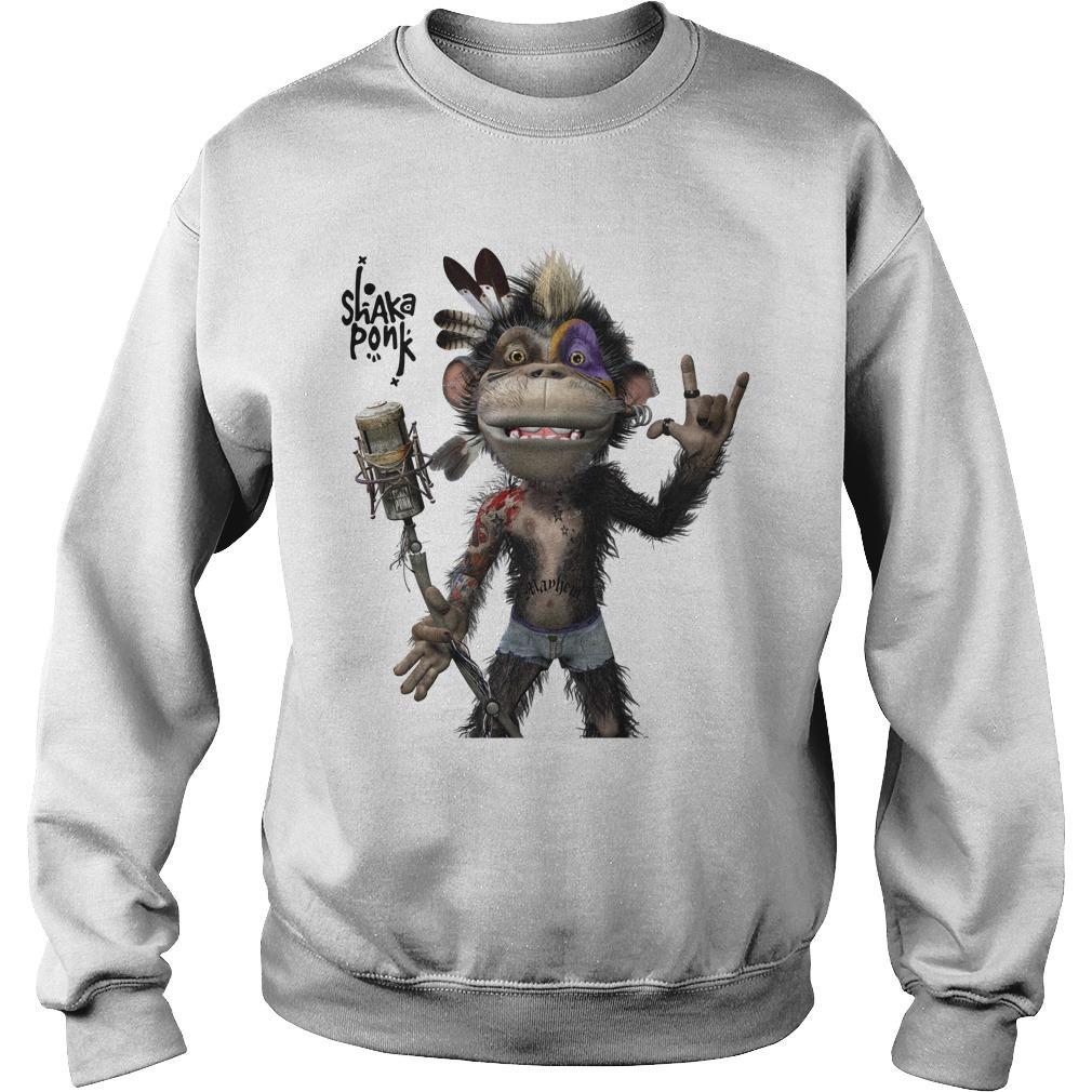 Monkey Goz Shaka Ponk Sweater
