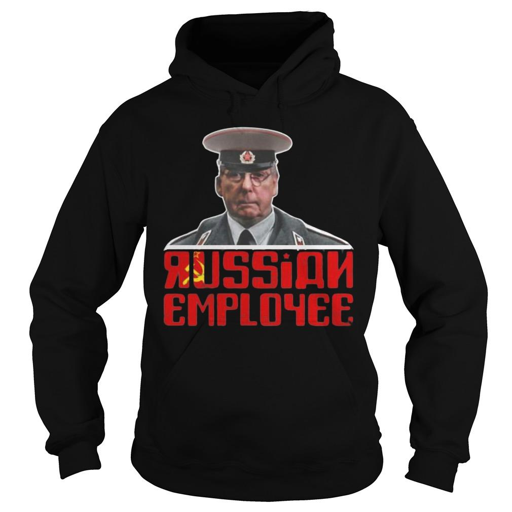 Moscow Mitch Mcconnell Traitor Russian Employee Hoodie