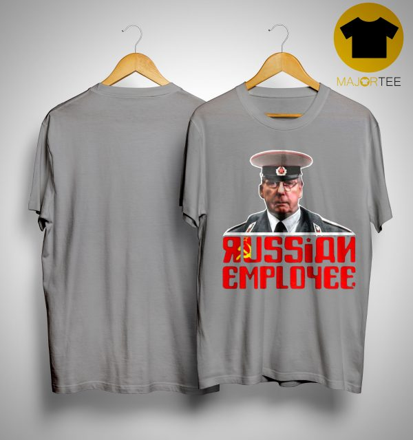 Moscow Mitch Mcconnell Traitor Russian Employee Shirt