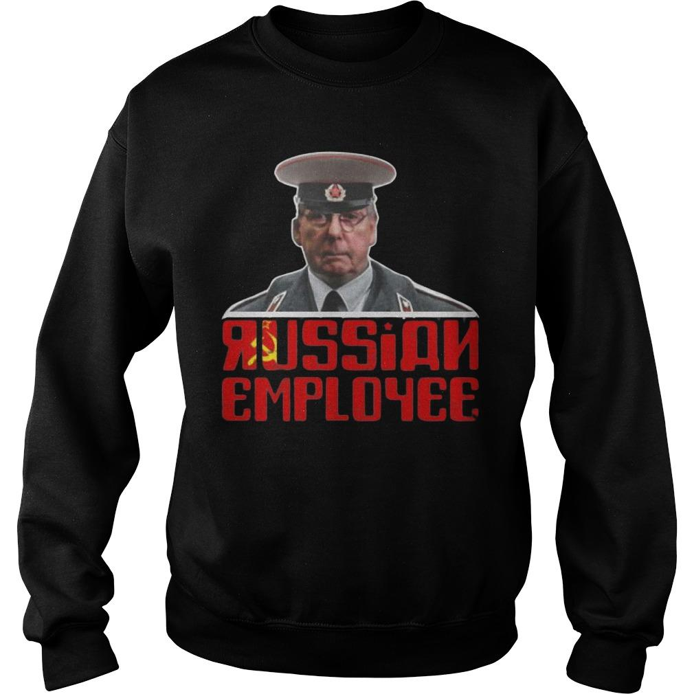 Moscow Mitch Mcconnell Traitor Russian Employee Sweater