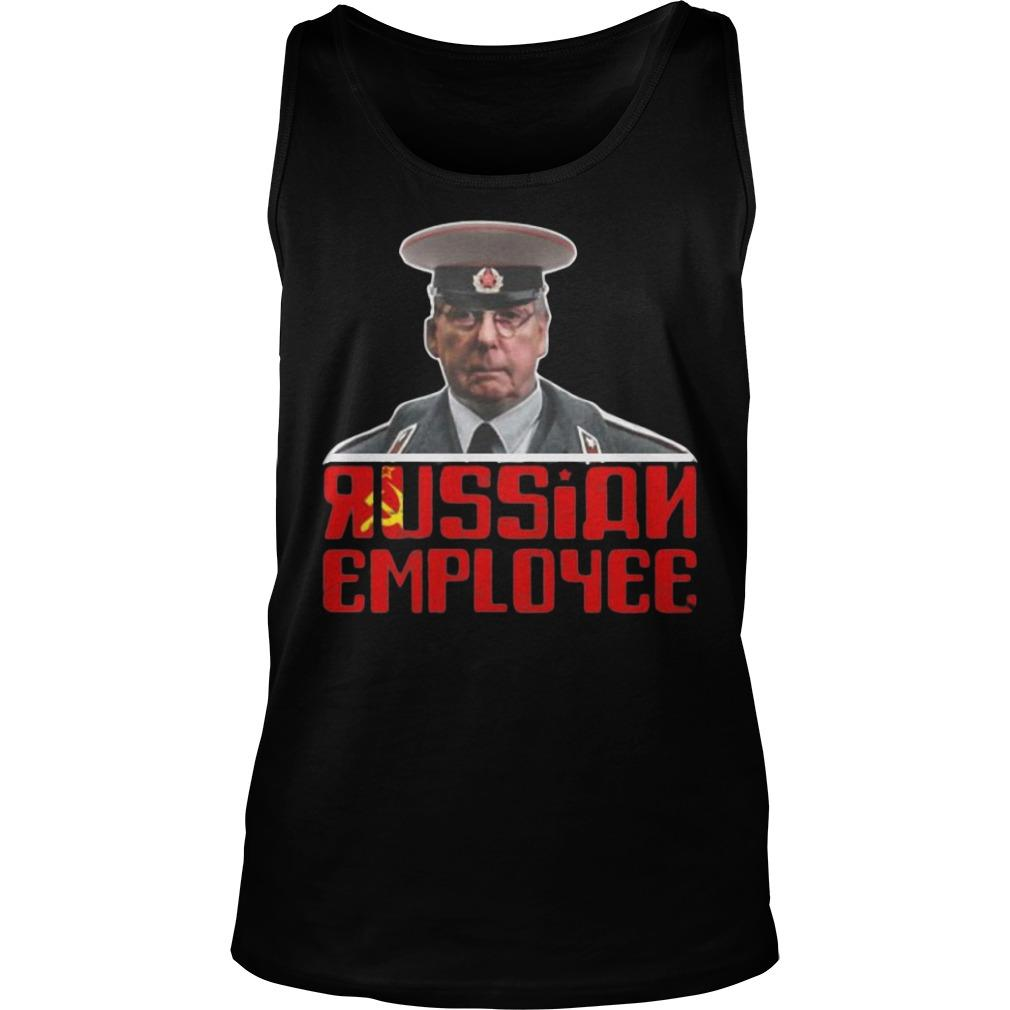 Moscow Mitch Mcconnell Traitor Russian Employee Tank Top