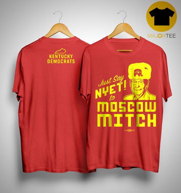 Moscow Mitch T Shirt Kentucky Democrats