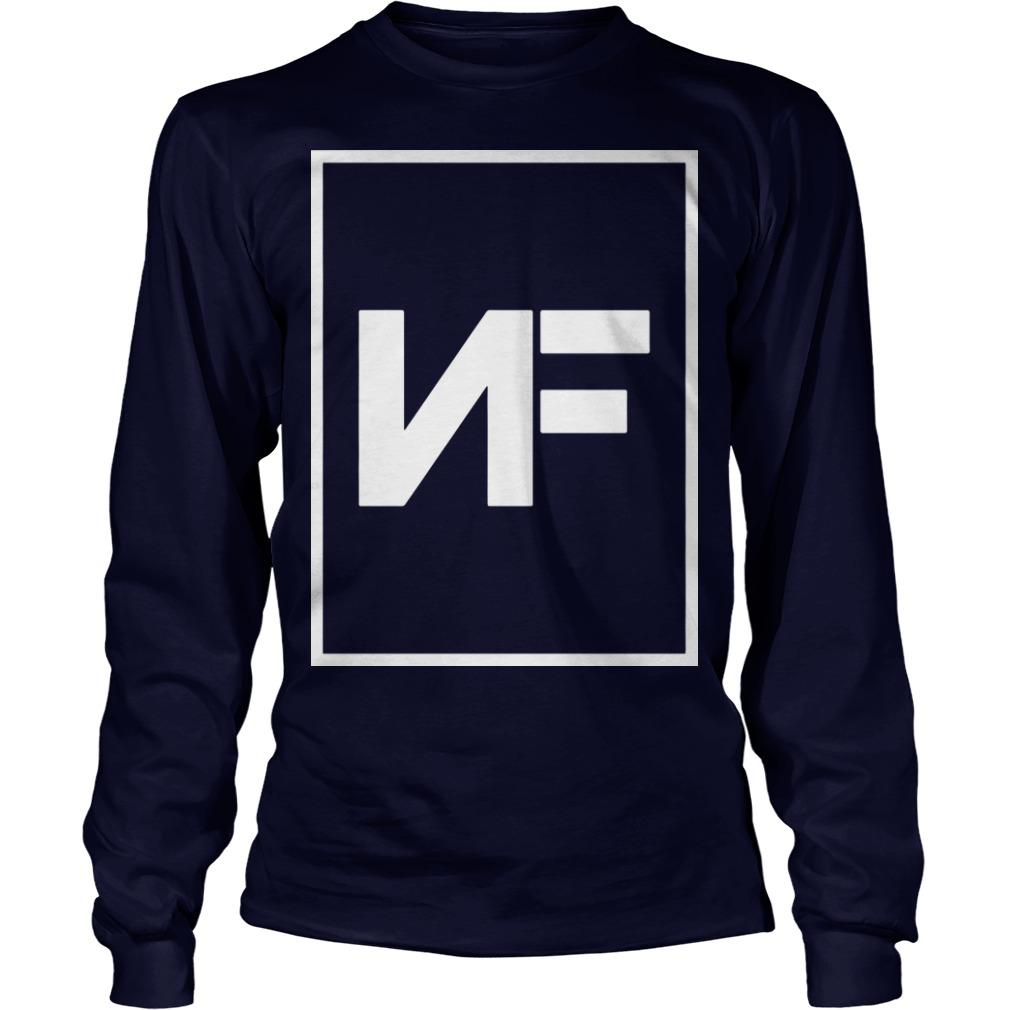 NF Logo The Search T Longsleeve
