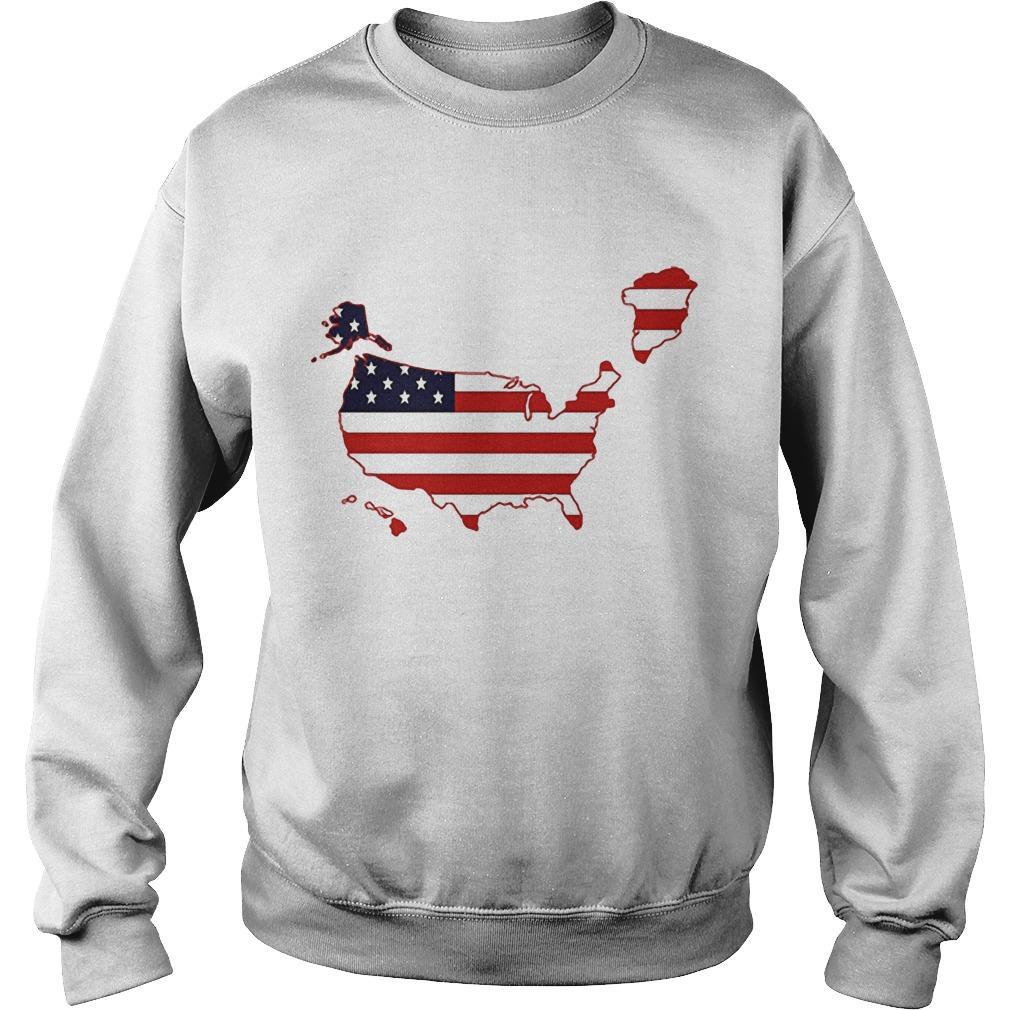 NRCC Greenland Us Map Sweater