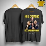 Neil Diamond 57th Anniversary 1962 2019 Signature Shirt