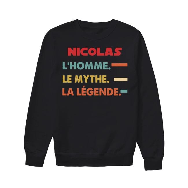 Nicolas L'homme Le Mythe La Légende Sweater