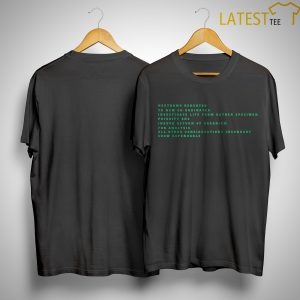 Nostromo Rerouted To New Co-ordiantes Shirt