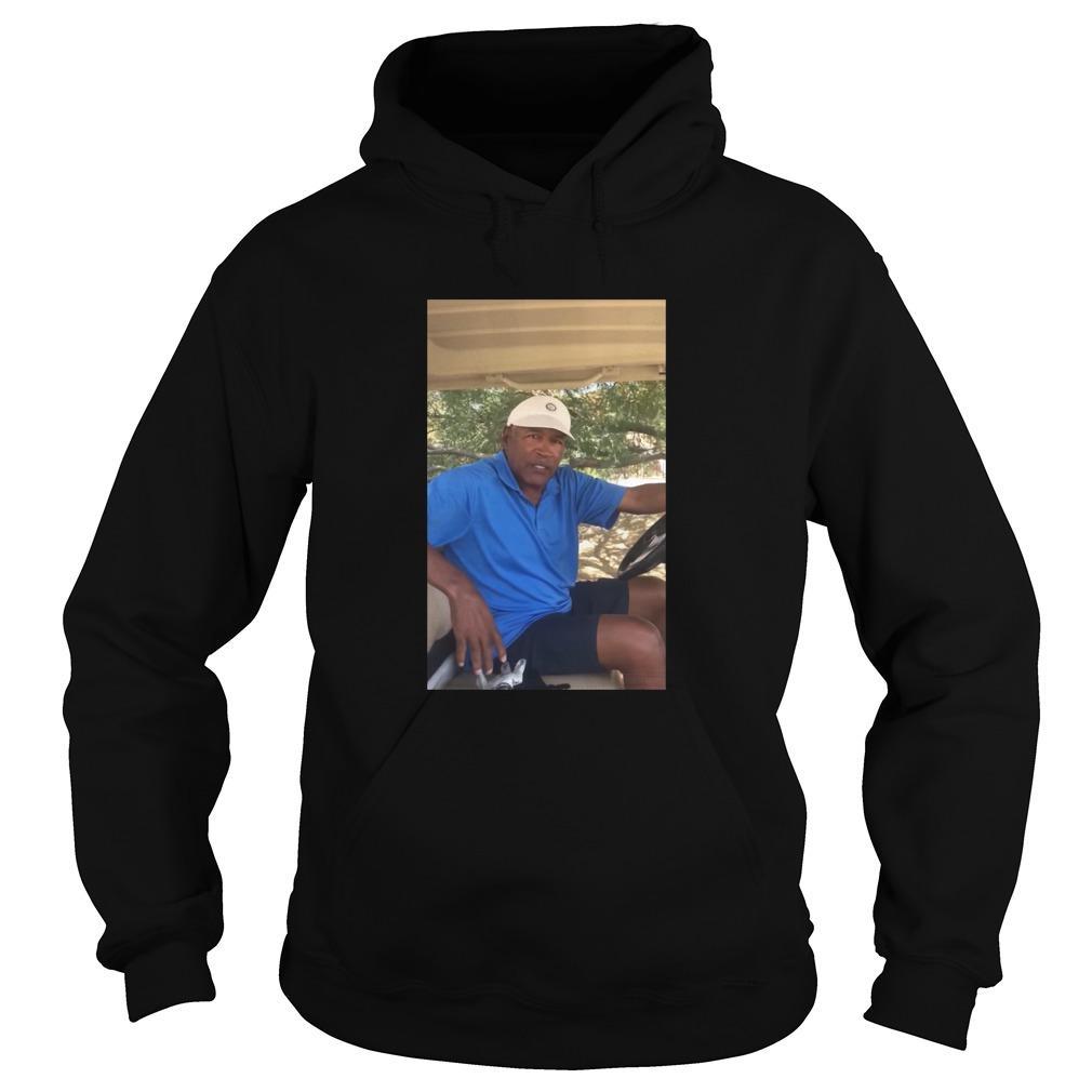 O.J. Simpson Golf shirt Hoodie