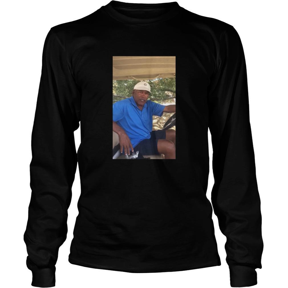 O.J. Simpson Golf shirt Longsleeve
