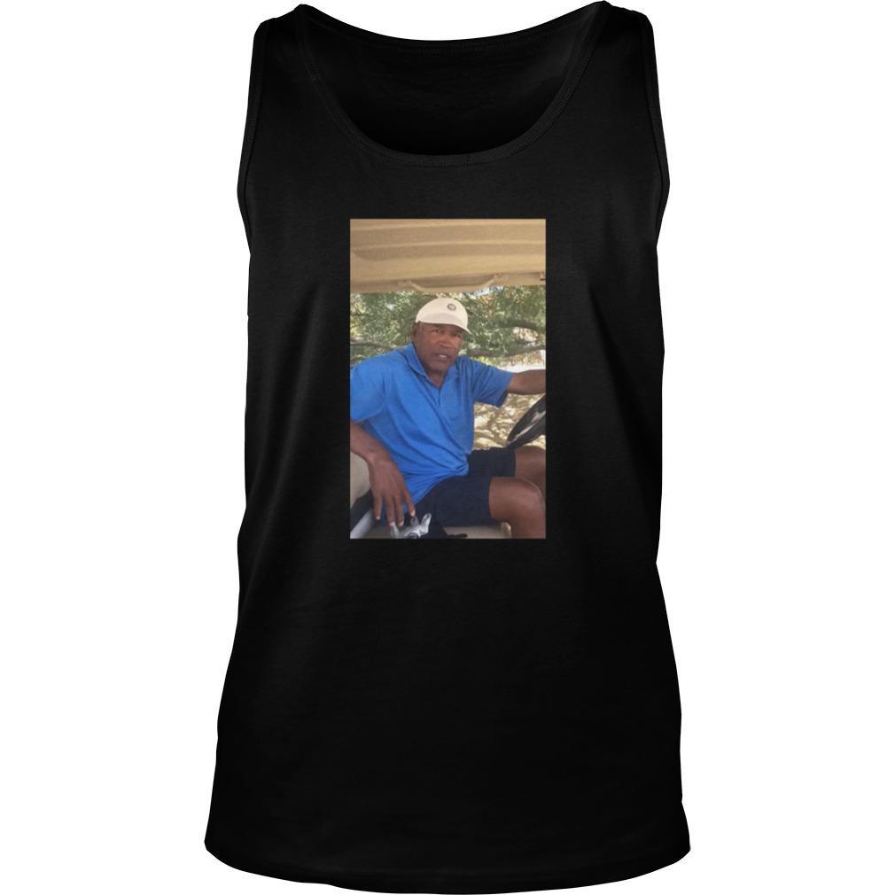 O.J. Simpson Golf shirt Tank Top
