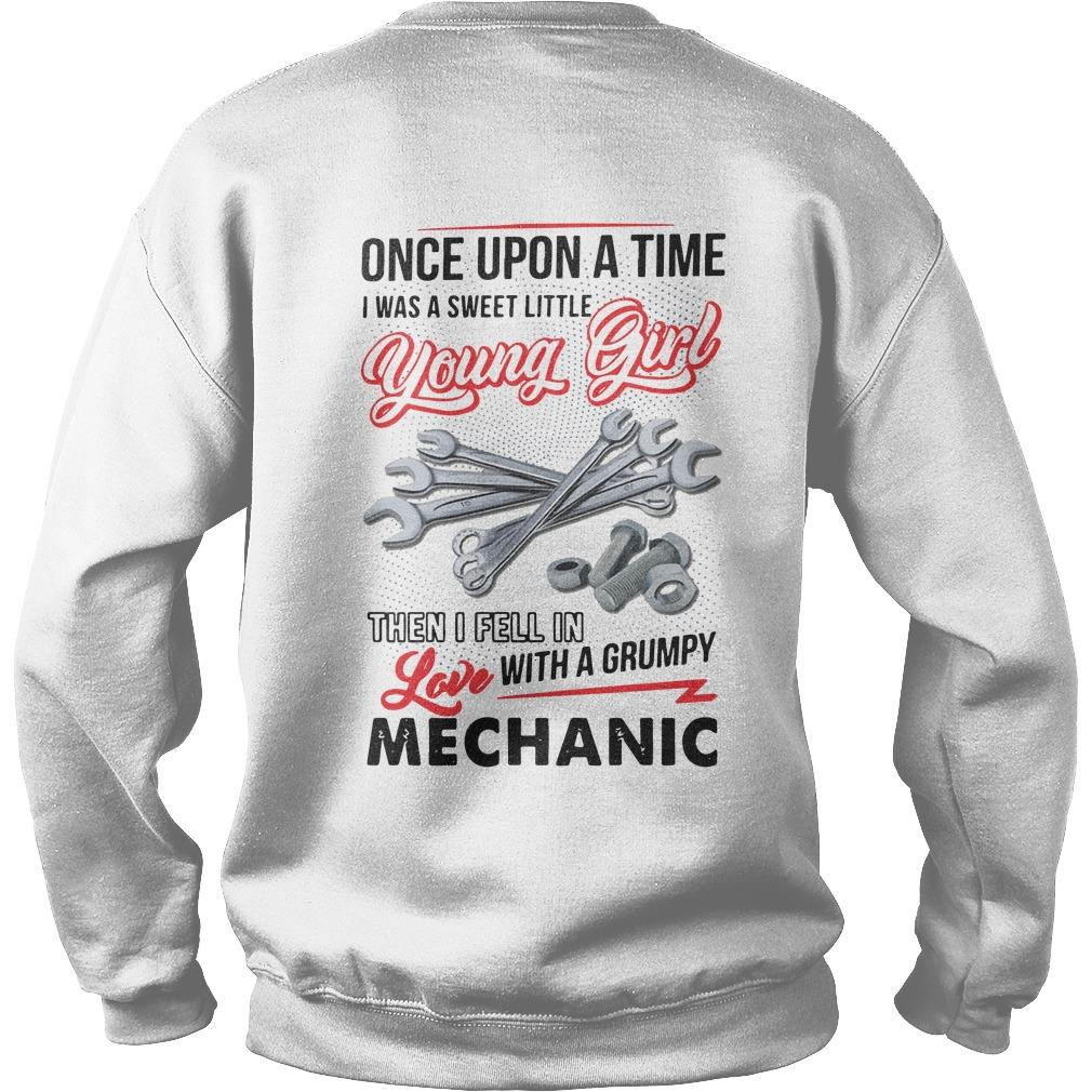 Once Upon A Time I Was A Sweet Little Young Girl Then I Fell In Love Mechanic Sweater