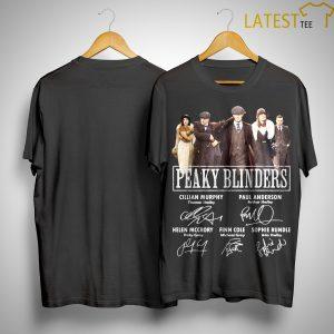 Peaky Blinders Signatures Shirt