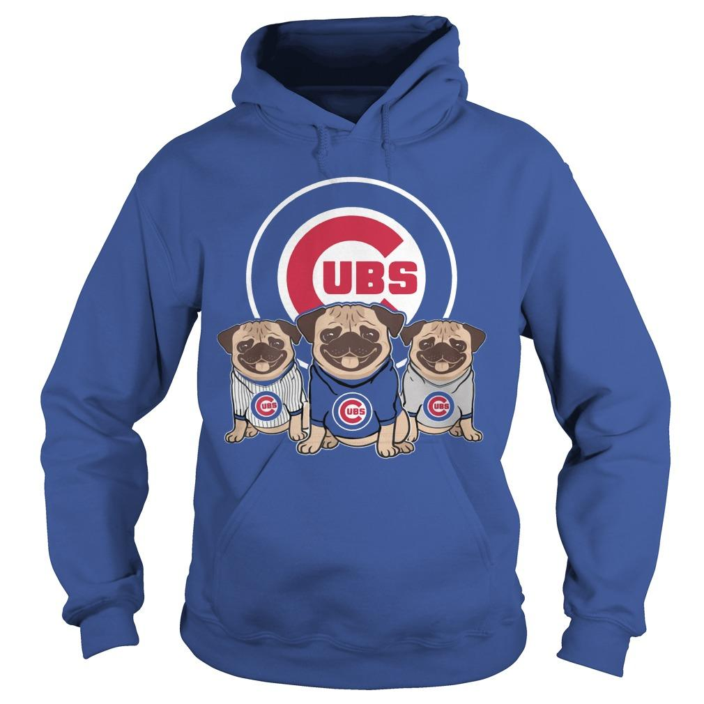 Pitbull Chicago Cubs Hoodie