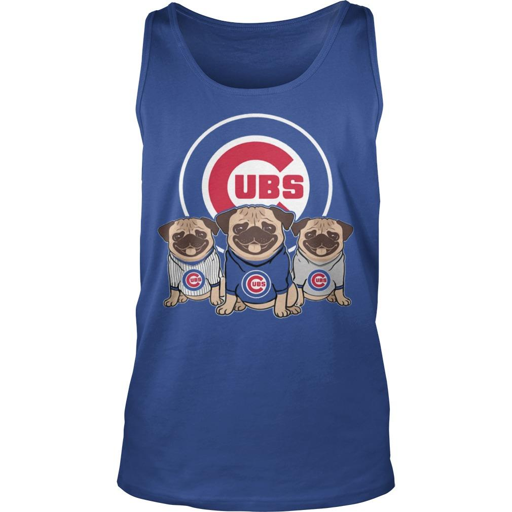 Pitbull Chicago Cubs Tank Top