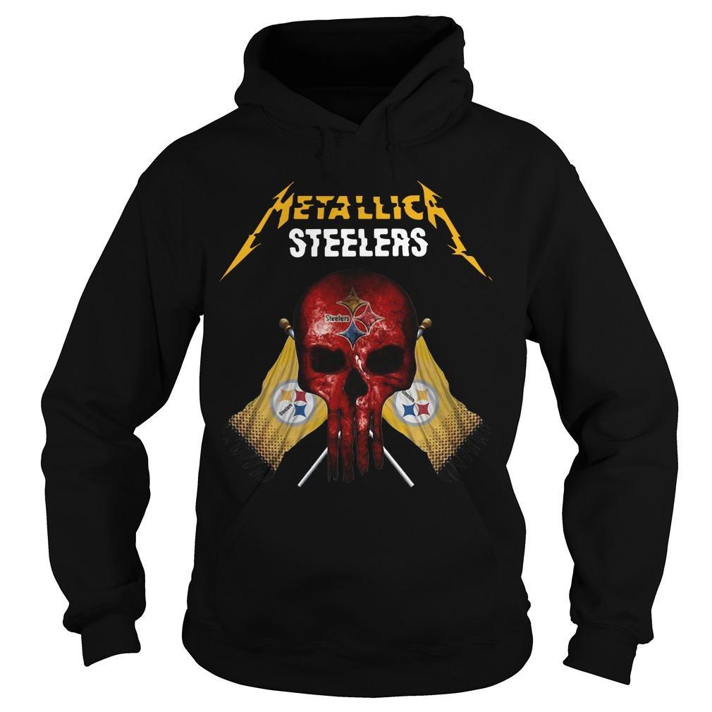 Pittsburgh Steelers Metallic Steelers Hoodie