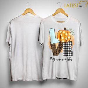Pumpkin Leopard Print Love #grammylife Shirt