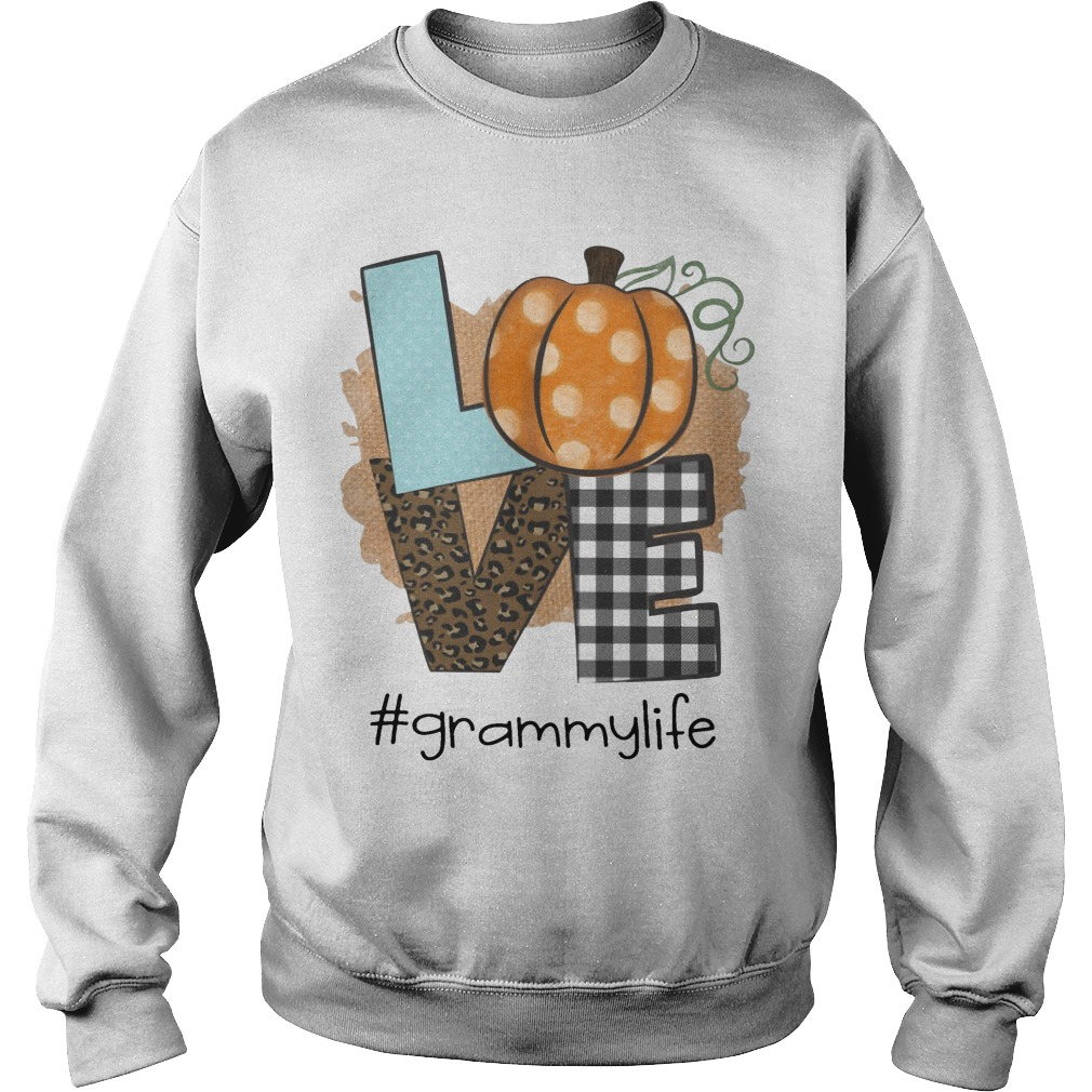 Pumpkin Leopard Print Love #grammylife Sweater