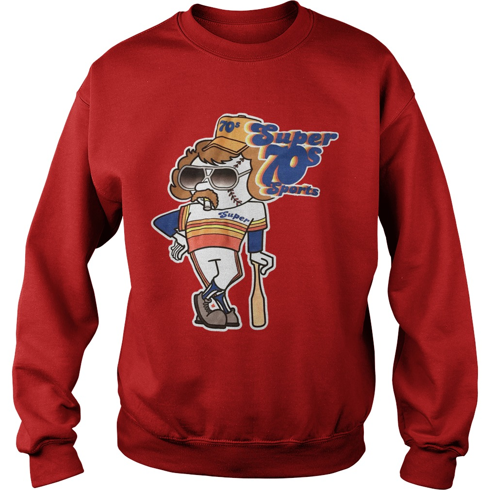 Qba Super 70s Sports Sweater