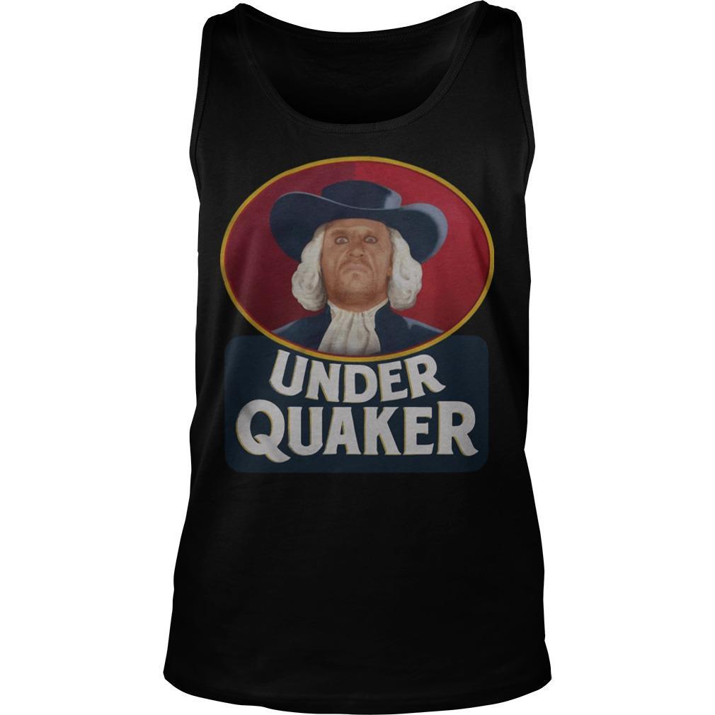 Quaker Oats Under Quaker Tank Top