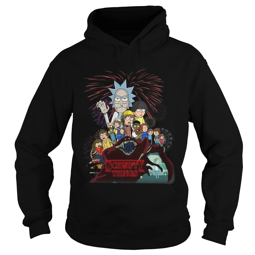 Rick And Morty Stranger Things 3 Hoodie
