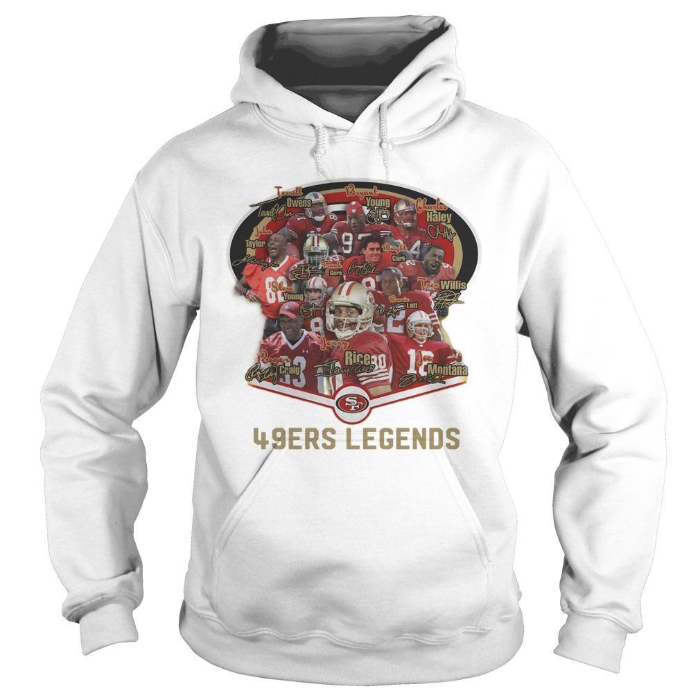 San Francisco 49ers Legends Hoodie