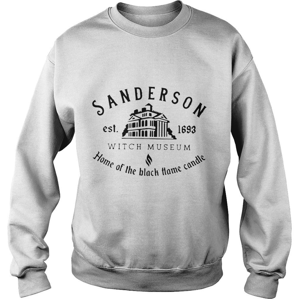 Sanderson Est 1693 Witch Museum Home Of The Black Hame Candle Sweater