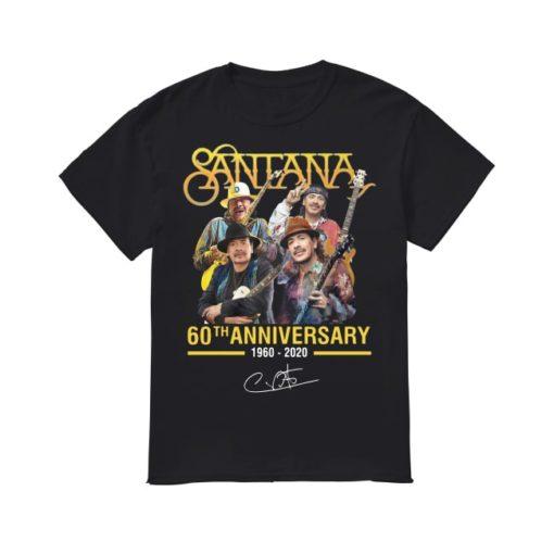 Santana 60th Anniversary 1960 2020 Shirt.jpg