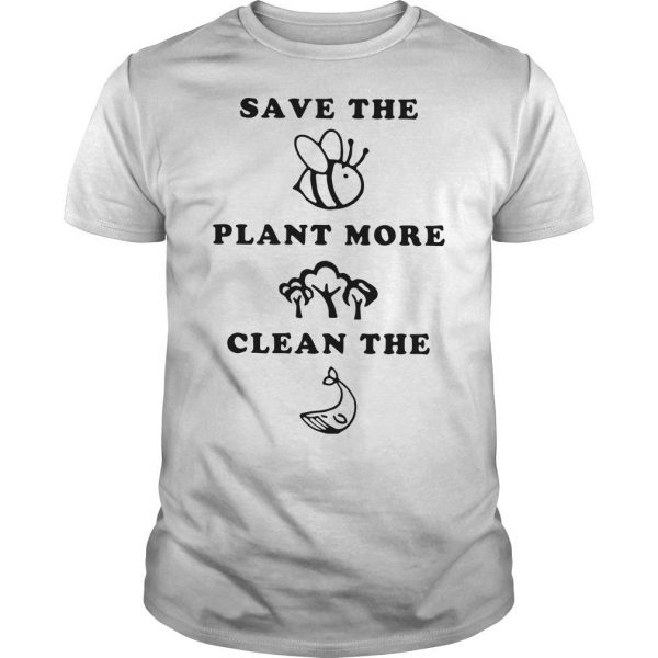 Save The Animals Plant More Trees Clean The Ocean