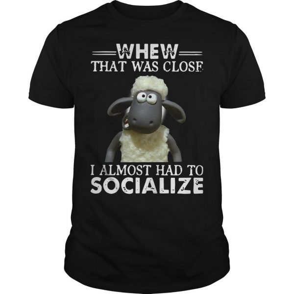 Shaun The Sheep Whew That Was Close I Almost Had To Socialize