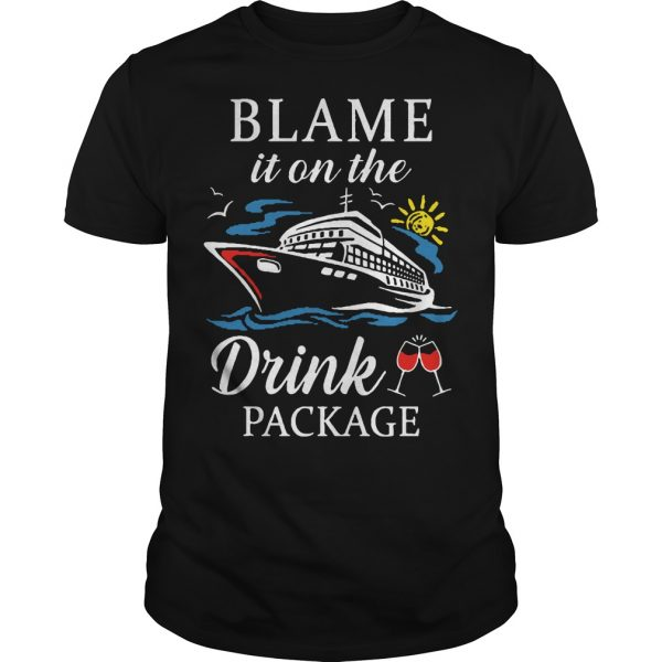 Ship Blame It On The Drink Package