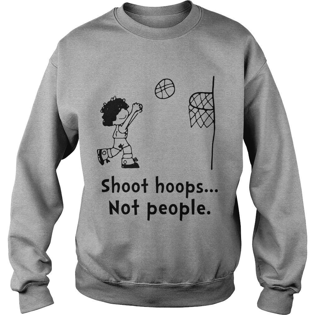 Shoot Hoops Not People Sweater