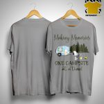 Snoopy And Woodstock Making Memories One Campsite At A Time Shirt