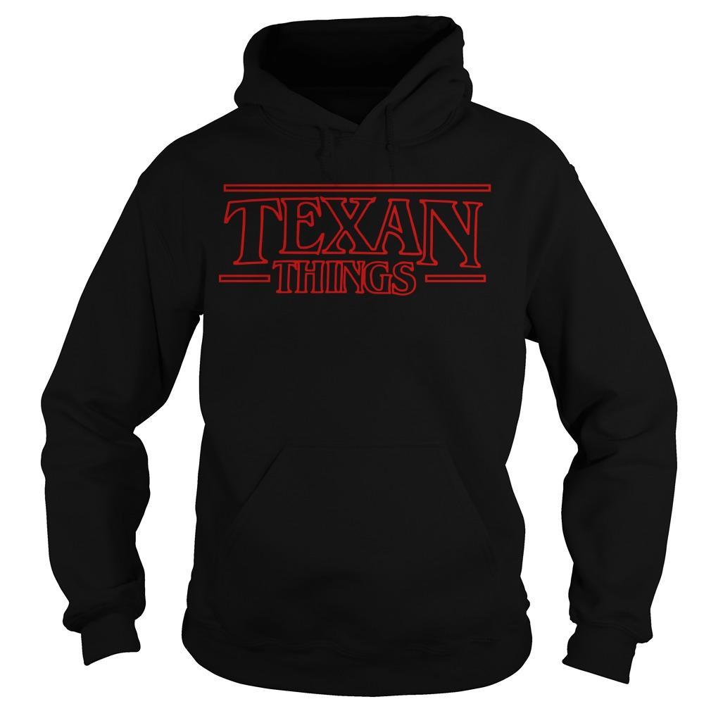 Stranger Things Texan Things Hoodie