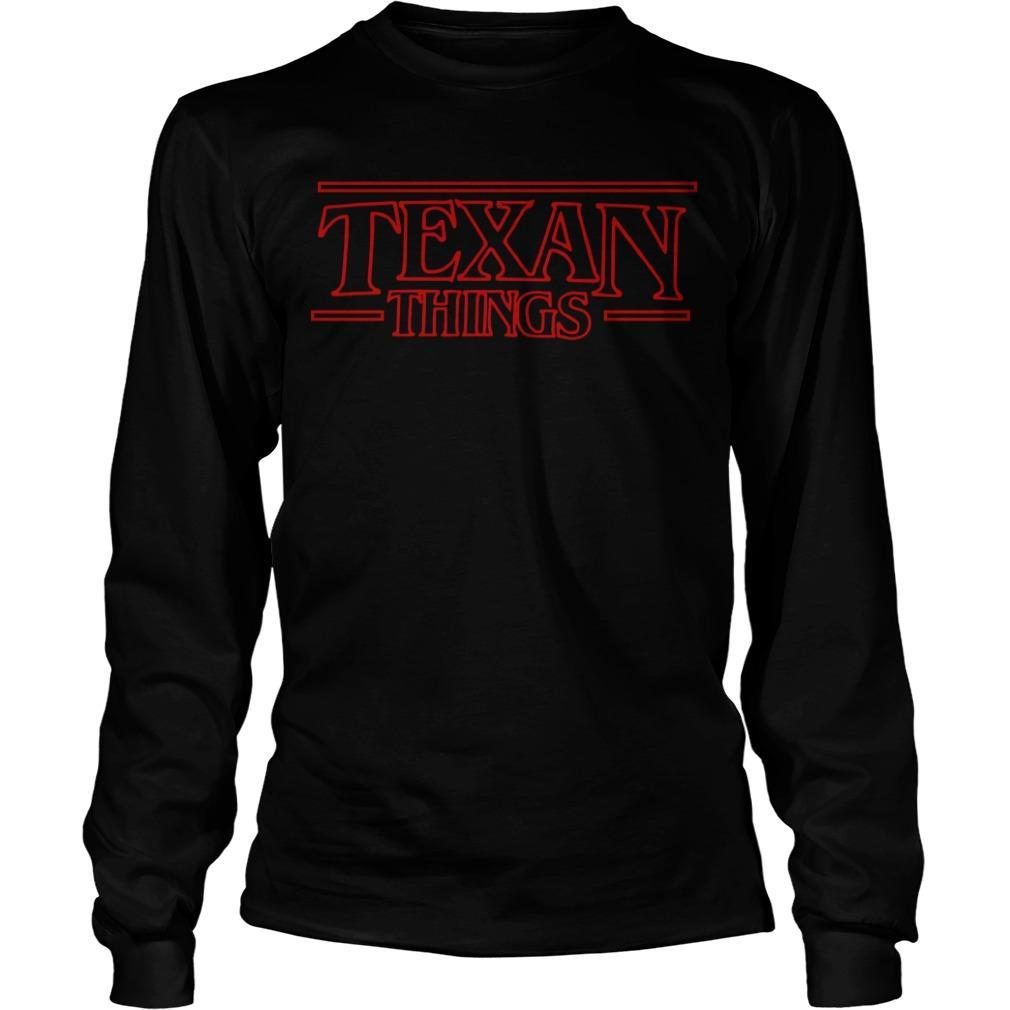 Stranger Things Texan Things Longsleeve