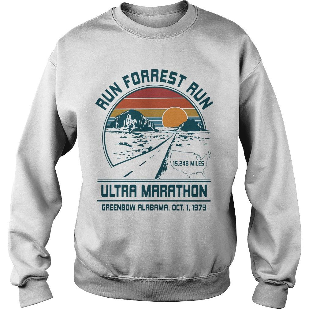 Sunset Run Forrest Run Ultra Marathon Sweater