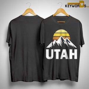 Sunset Vintage Mountains Utah Shirt