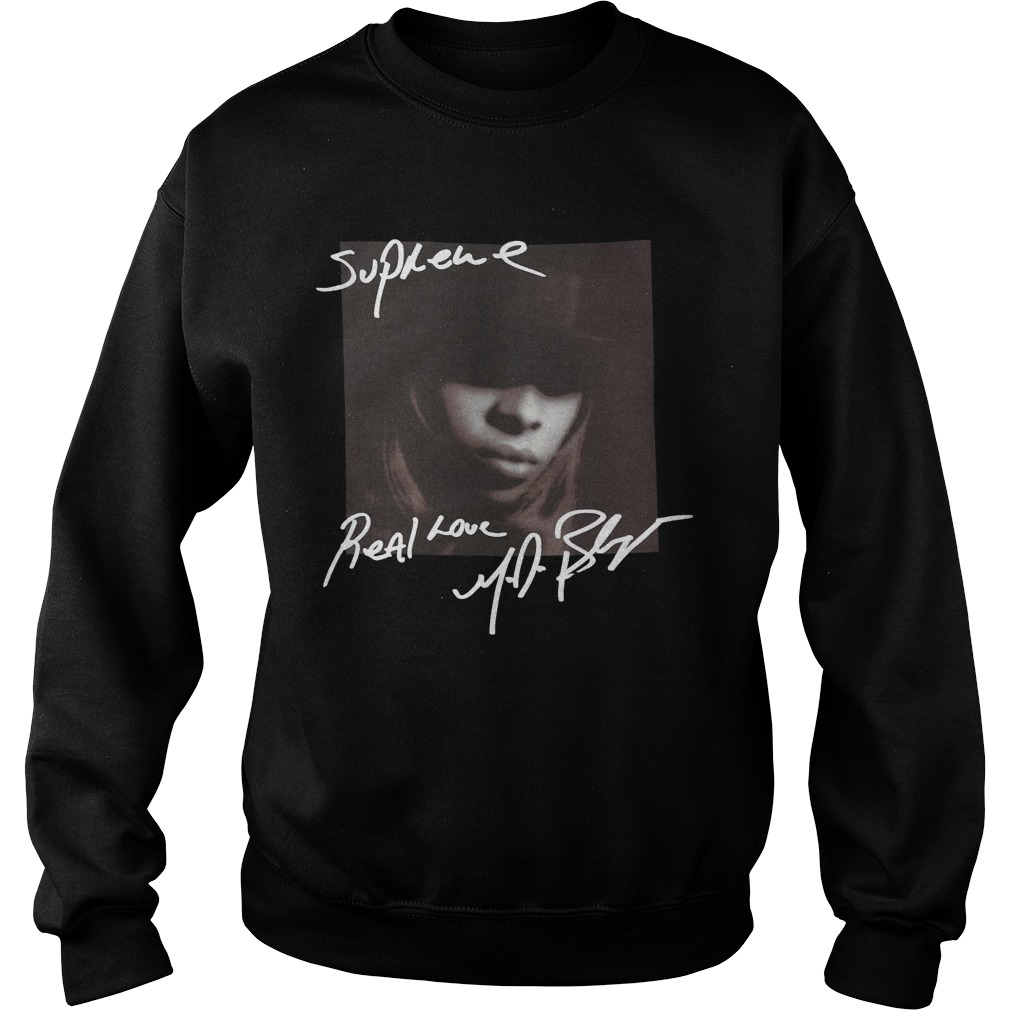 Supreme Mary J Blige Sweater