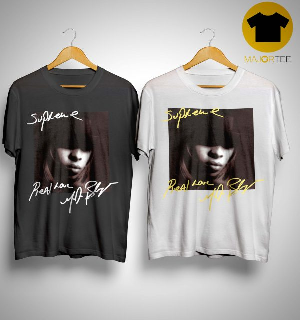 Supreme Mary J Blige T Shirt