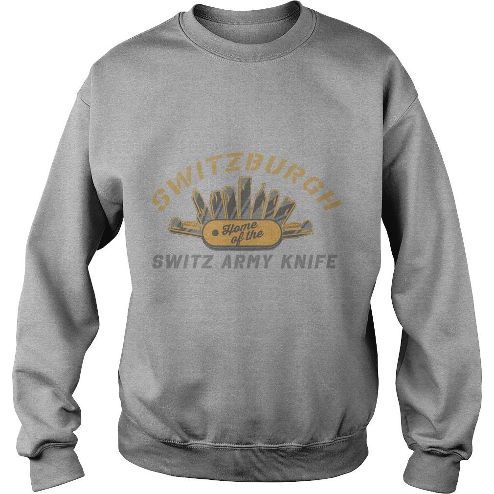 Switzerburgh Home Of The Switz Army Knife Sweater