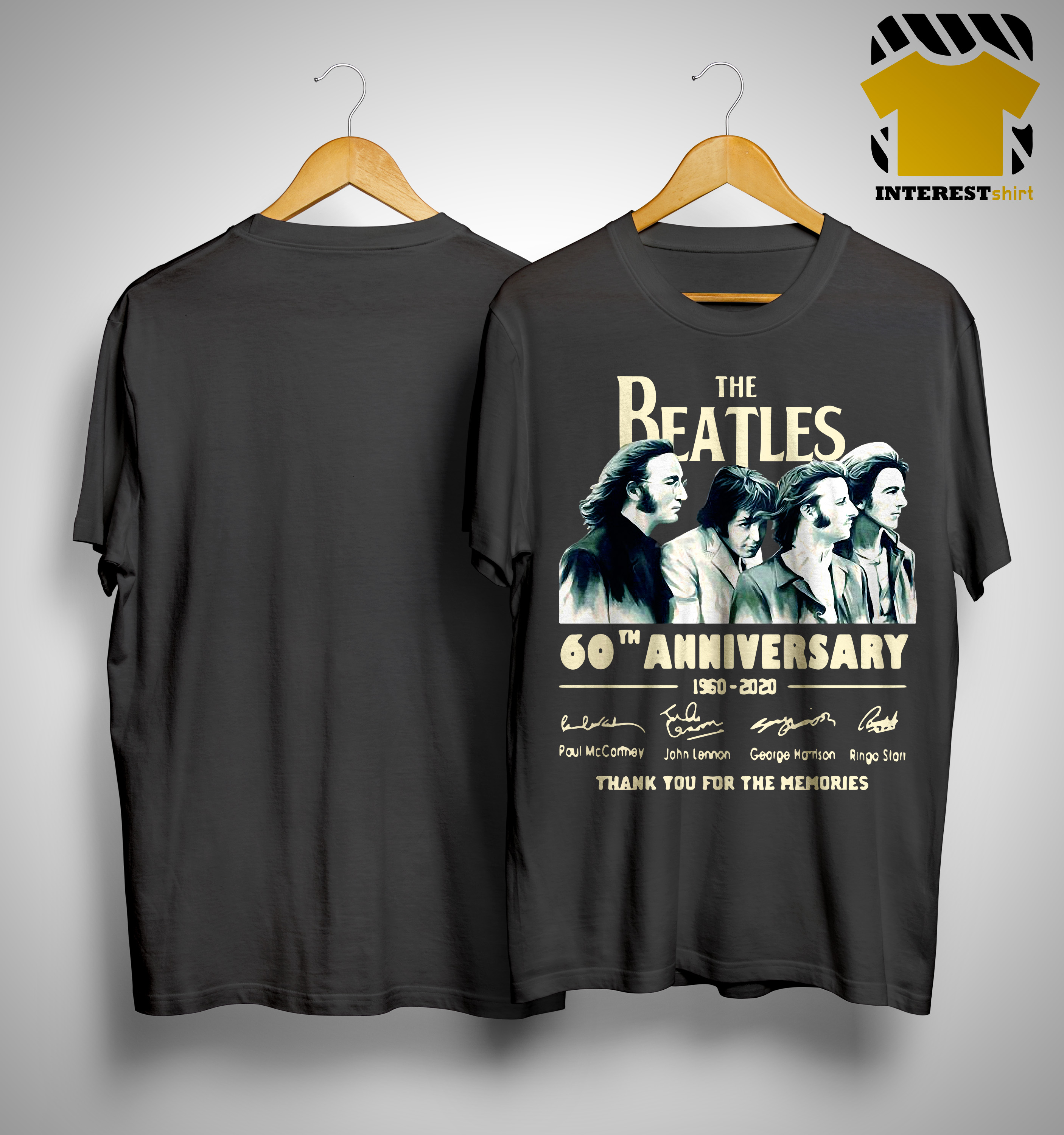 The Beatles 60th Anniversary Thank You For The Memories Shirt